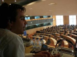 Entrevista al intérprete de conferencias Jose Sentamans, antiguo alumno del MIC de la ULL